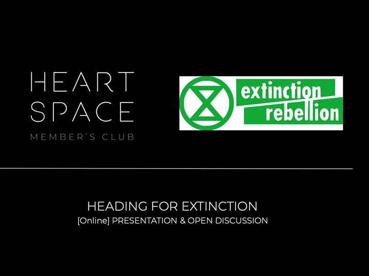 [Online Event]: Heading for Extinction and what to do about it